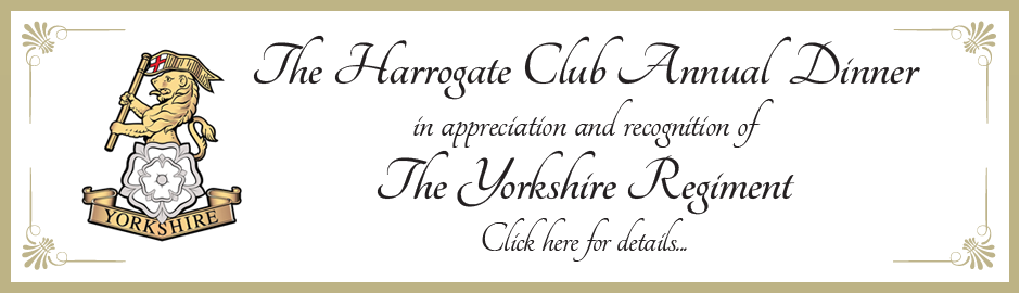 The Harrogate Club Annual Dinner
