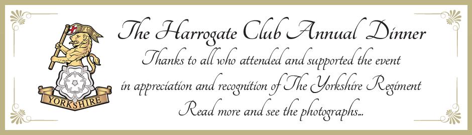 Harrogate Club Annual Dinner